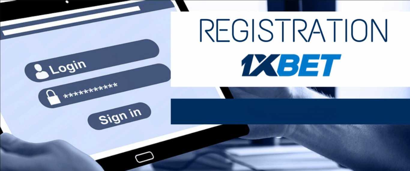 1xBet registration